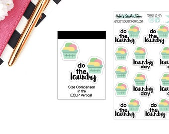 Laundry Stickers for any Planner