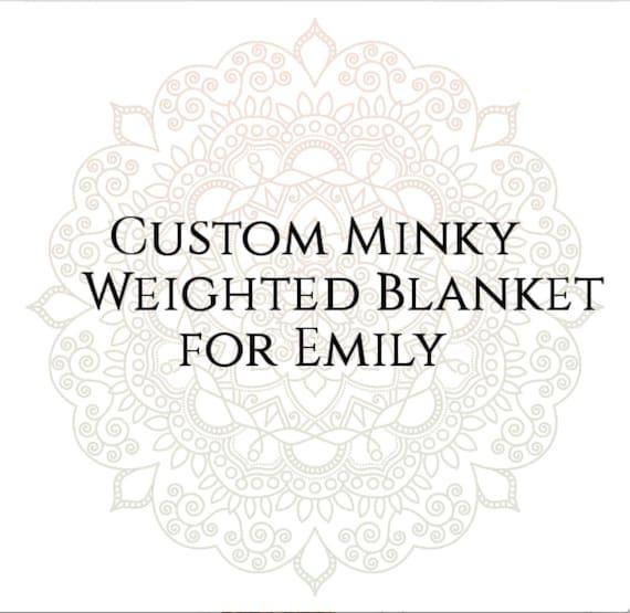 Custom Weighted Blanket for Emily