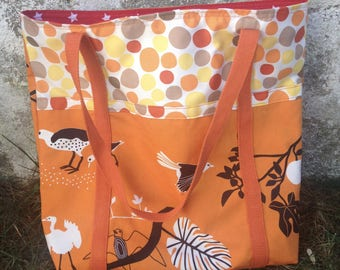Large tote Bag fall