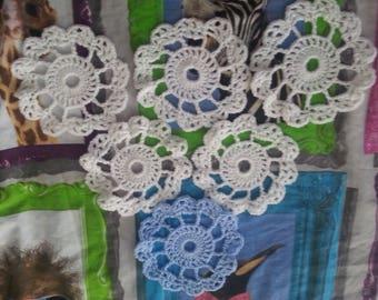 Lace Coasters - Set of 6