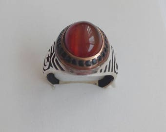 Vintage ring with stone