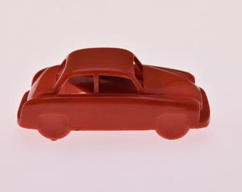 Car Plastic PENCIL SHARPENER a Polish TOY Poland 1970s