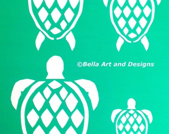 List 1 - Assorted Ocean and Seashell Stencils  *Free gift with every order*