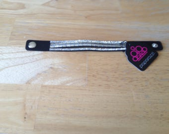 Rhinestone Rock Star Black Bracelet - Paparazzi