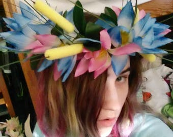 Lady of the Lagoon Faerie Crown