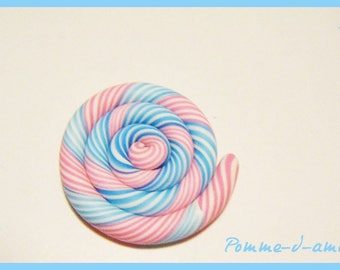 Cabochon ♥ ♥ polymer fimo clay spiral