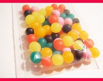 ♥ 60 sushi polymer clay for jar ♥