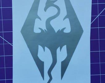 Skyrim dragon decal