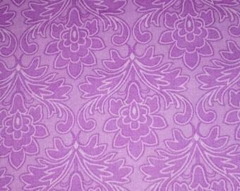 Beautiful lilac printed fabric