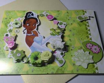 Child 689 handmade 3D card