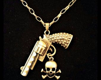 Six-Shooter Necklace
