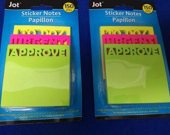 JOT Post-It Sticker To-Do  Notes - 300 Sheets