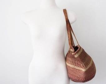Vintage Sisal Market Bag