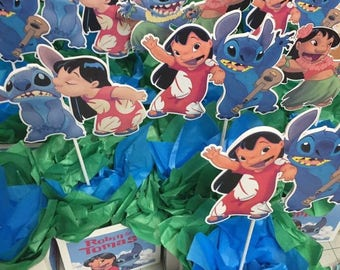 Lilo and Stitch Centerpieces