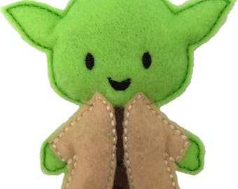 Yoda inspred Catnip Toy