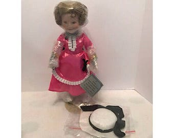 """The Danbury Mint Shirley Temple Doll """"The Little Colonel"""""""