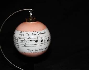 Joy to the World Ornament
