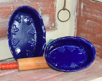 Cobalt Blue Baking Dishes