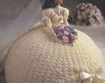 Miss June, Annie's Attic Bridal Belle Crochet Fashion Doll Clothes Pattern Booklet