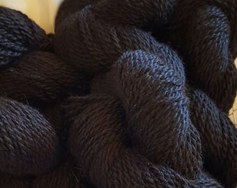 Alpaca Yarn-Black