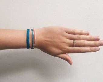 Surf Bracelet / Waterproof Bracelet / Adjustable Bracelet / Friendship Bracelet / Travelling / Travel / Unisex Bracelet / Bohemian Bracelet