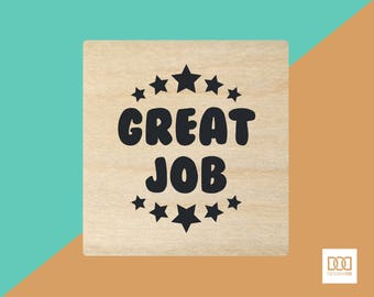 Great Job - 3cm Rubber Stamp (DODRS0041)