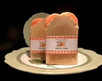 Peach Cobbler Goat Milk Soap