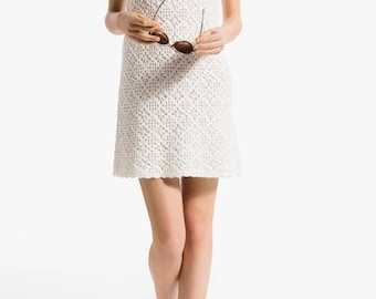 Crochet Dress Beach cover-up crochet Dress Dress beach wedding dress