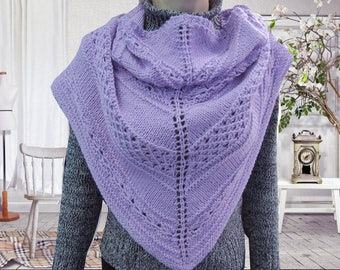 Gift-for-her Christmas wife gift Knit shawl Knit scarf Gifts-fo-mom Womens Shawl Wool scarf Birthday gift-for-friends girl warm winter scarf