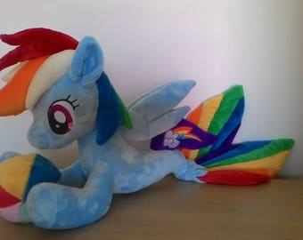 mlp plush-mlp rainbow dash-rainbow dash plush-seapony