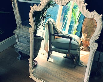 Now sold!!!!! A French style ornate mirror