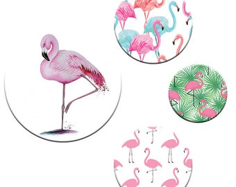 A pack of 4 Patternweights Ideal for holding Patterns onto fabric FLAMINGO