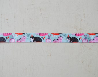 Ribbon cat funny 22 mm wide measuring 90 cm long no. 23