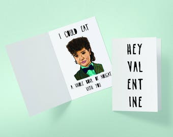 Dustin Nougat Valentine's Day Stranger Things Inspired Greeting Card