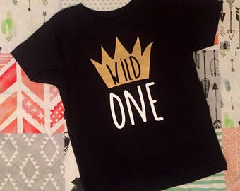 Wild One first birthday outfit smash cake outfit baby boy birthday where the wild things are rabbit skin bodysuit romper