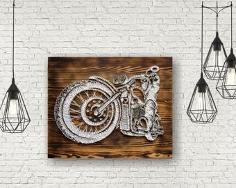 Motorbike Gift Ideas Gift for him Motorbike Gift Motorcycle Sign Garage Wall Decor Motorcycle Gift Ideas Gift Dad Motorcycle Artwork Biker