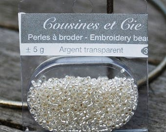 Beads embroidery clear - (ref 3903)