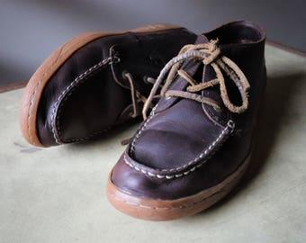 Shoes man Vintage Eagle, moccasin Sportswear chic man