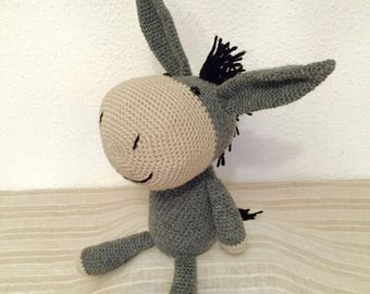 ANATOLE cuddly donkey crochet