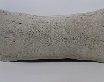 Handwovne Kilim Pillow Sofa Pillow Throw Pillow 12x24 Lumbar Kilim Pillow Sofa Pillow Ethnic Pillow Cushion Cover SP3060-1311