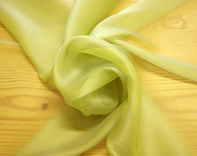 232081-Organdy natural Silk Cangiante 100%, litmus, width 135/140 cm, made in Italy, dry cleaning, weight 55 gr