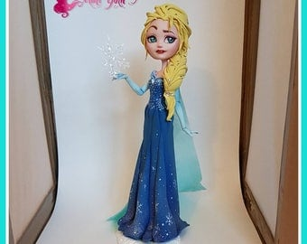 "Elsa, la reine des neiges ""Frozen"" after ever high custom"