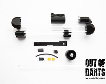 """Nerf Rival Zeus """"HIRricane"""" Kit by OutofDarts - Blaster not included! (85 round capacity)"""