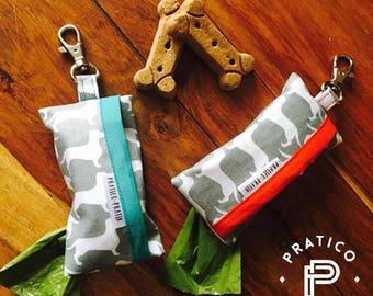 Ready / poop Bag dispenser / poopbag deliver / dog / dog / Dachshund / Sausage dogs / stocking stuffer