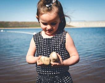 X and O Crop Top - girls top, toddler top, shirt, black and white crop top, black and white shirt, summer shirt