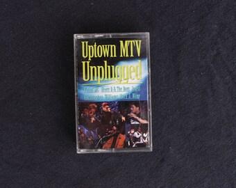 Uptown MTV Unplugged Cassette Tape