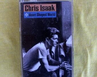 Chris Isaak - Heart Shaped World - Cassette Tape 1989