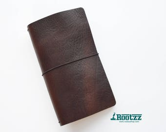 RG XL Traveler's notebook Brown - midori like- fauxdori