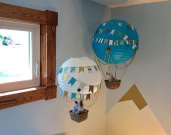 Hot Air Balloon Nursery Art