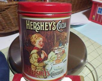 Hershey's Cocoa Tin